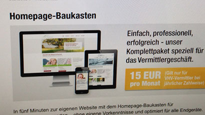 Launch VHV Homepage-Baukasten