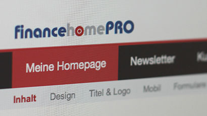 Relaunch financehomePRO